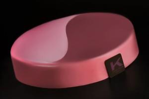 Knam Extreme: cioccolato al latte, pompelmo rosa e pepe di Timut (Nepal), sablè all'arancia, marquise al cacao, cremoso al cioccolato al latte, aspic al pompelmo rosa con infusione di pepe di Timut glassa rosa al pompelmo